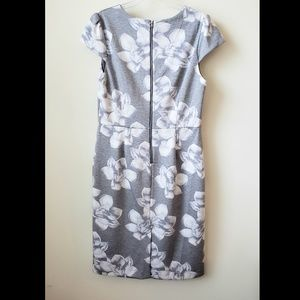 Betsey Johnson Dresses - Betsey Johnson Floral Scuba Sheath dress size 14